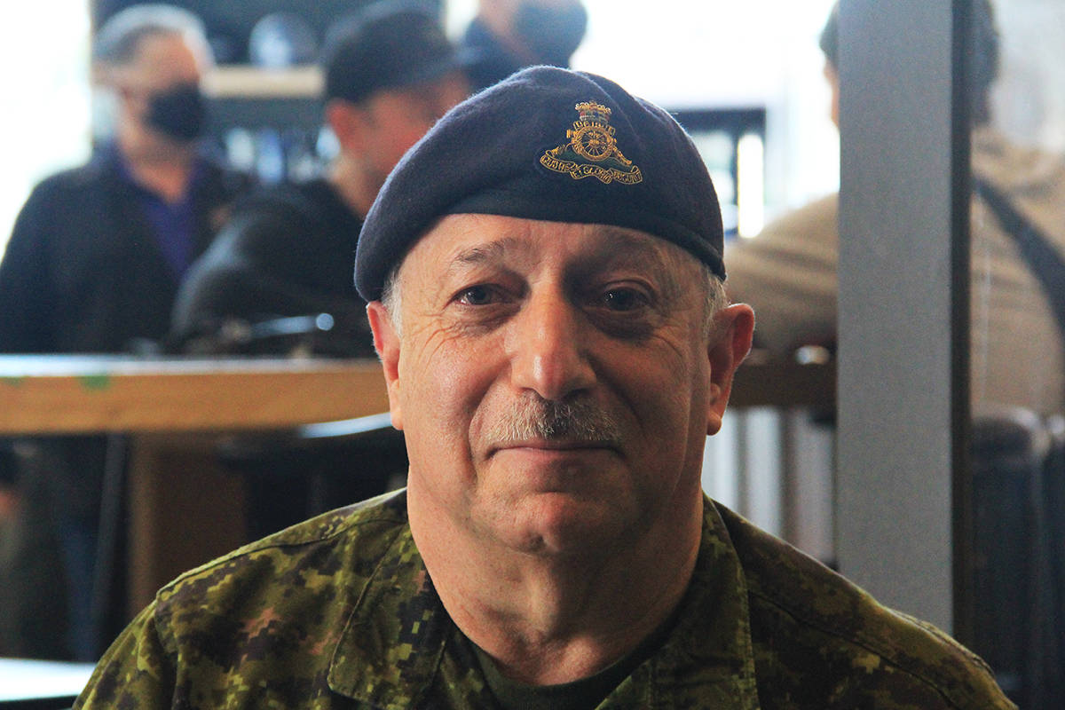Hon. Col. Allan De Genova, founder and president of Honour House. Smugglers' Trail Caskworks has launched a new beer called Orion 1-1 and partial proceeds from sales will go to support Honour House. (Photo: Malin Jordan)