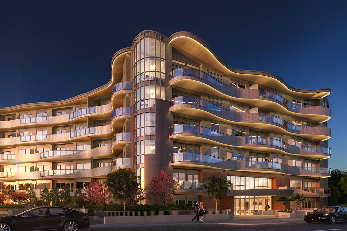 Legacy on Park Avenuea casts a striking silhouette, with the meticulous construction to back it up.