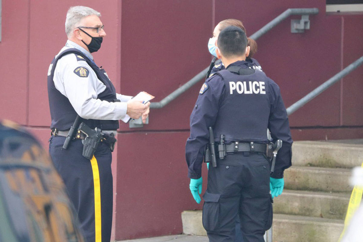 Surrey RCMP are investigating a reported assault at Panorama Ridge Secondary. (Shane MacKichan photos)