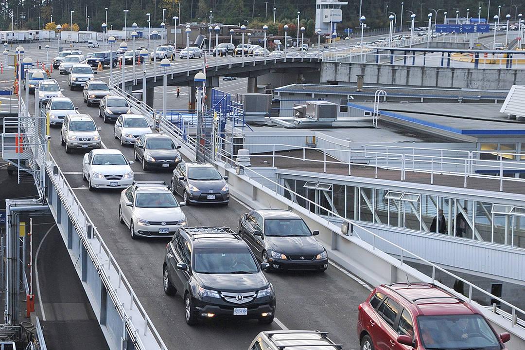 Victoria's Swartz Bay terminal. (Black Press Media file photo)