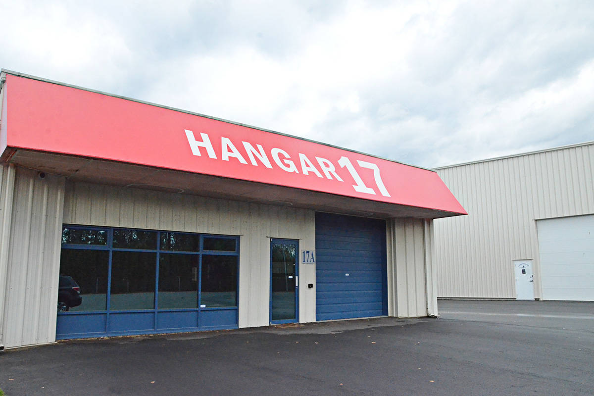 The lease on Hangar 17 at Langley Regional Airport is being disputed in court, as the Township tries to end it and the tenant tries to hold on. (Matthew Claxton/Langley Advance Times)