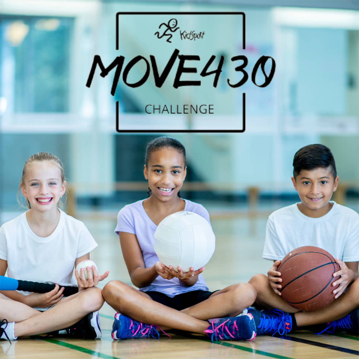Move430 aims to encourage Langley residents to be active while raising funds to help kids play sports (KidSport image)