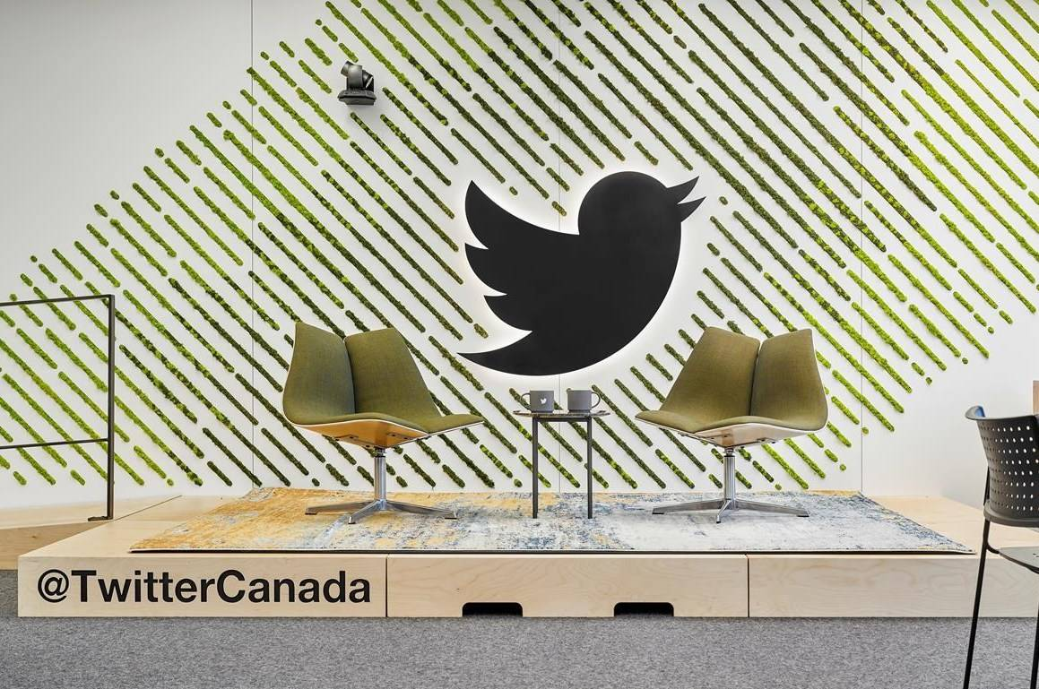 The Twitter Canada office in Toronto is shown in this undated handout photo. Twitter Inc. will be bulking up on Canadian talent this year with a hiring spree meant to add dozens of engineers in the country to its staff. The San Francisco, Calif.-based social media giant said Thursday that it plans to form its first Canadian engineering hub with at least 24 new workers it will soon hire. THE CANADIAN PRESS/HO - Twitter Canada