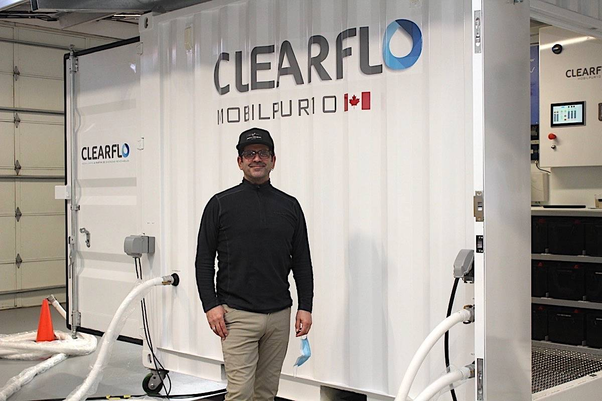 Kevin Haughton is the founder/technologist of Courtenay-based Clearflo Solutions. Scott Stanfield photo
