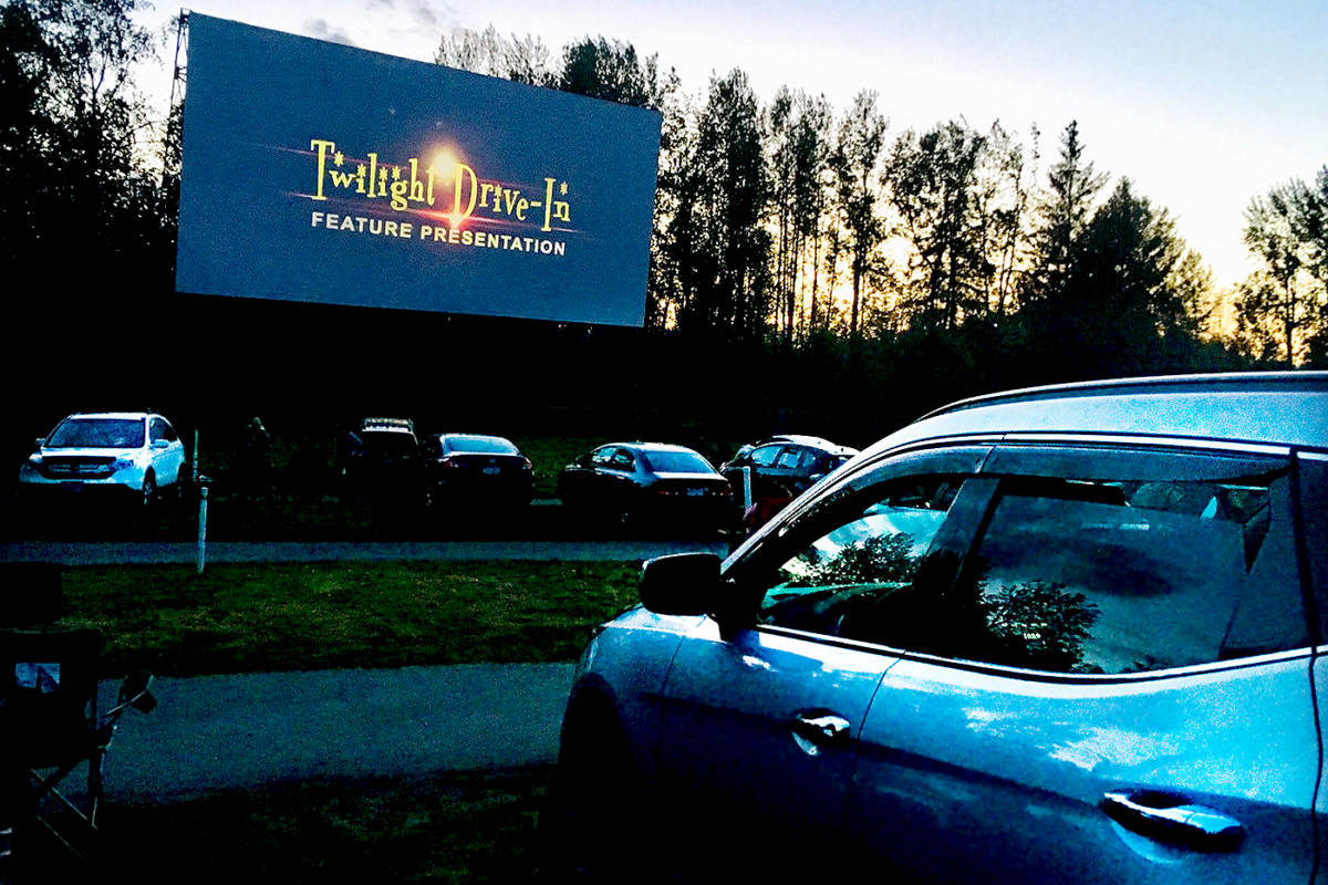Twilight Drive-In in Aldergrove (Aldergrove Star files)