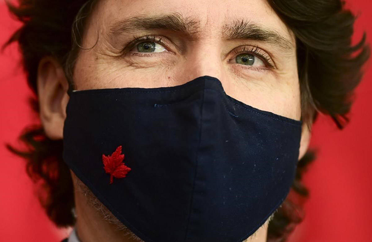 Prime Minister Justin Trudeau holds a press conference in Ottawa Friday, March 5, 2021. THE CANADIAN PRESS/Sean Kilpatrick