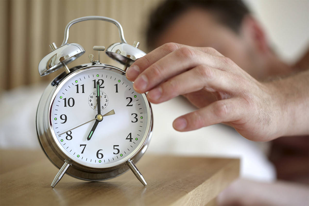 Daylight Saving Time in B.C. means that clocks will need to wind forward an hour on Sunday, March 14. (123rf.com)