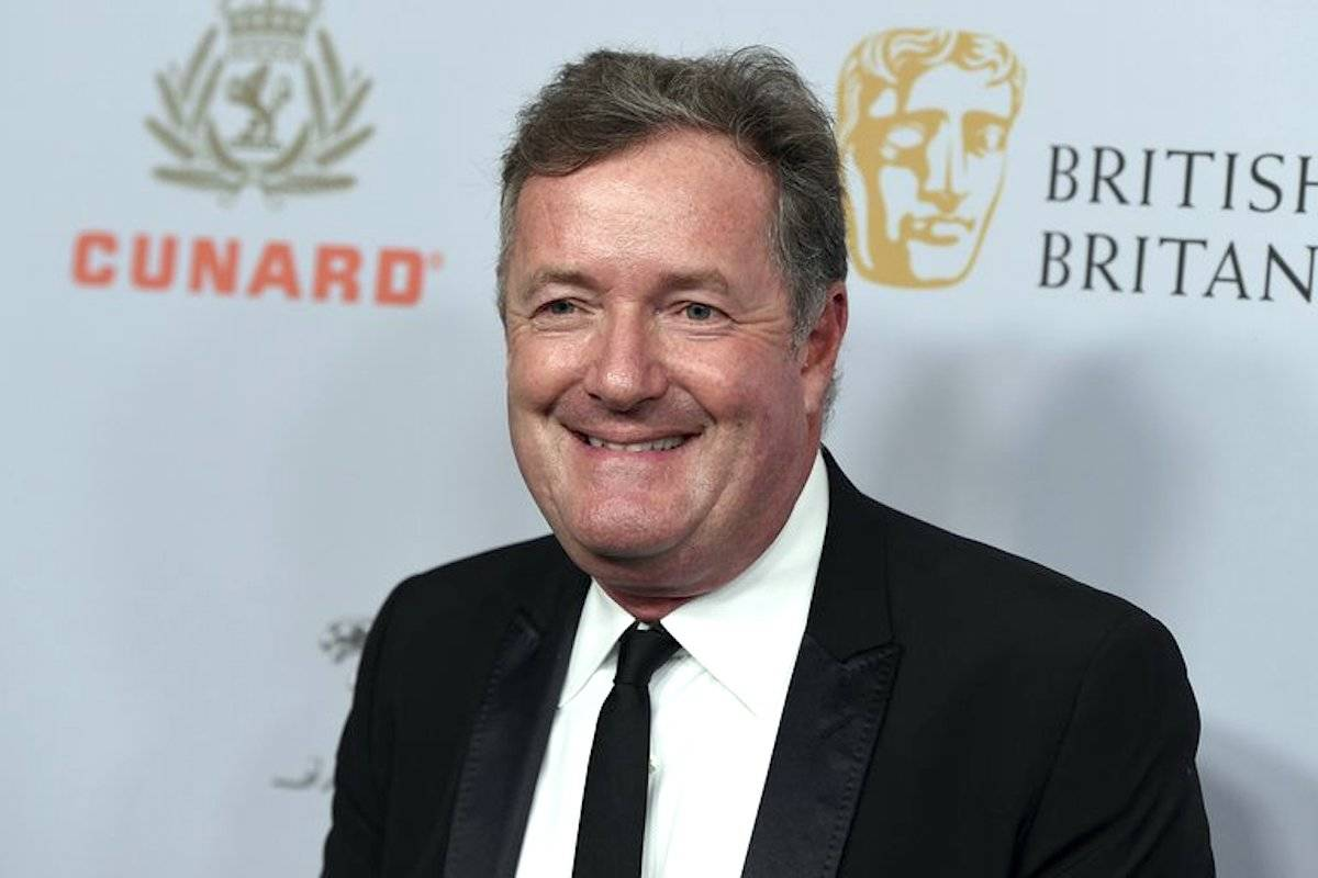 """British talk show host Piers Morgan has quit the show """"Good Morning Britain"""" after making controversial comments about the Duchess of Sussex. (Photo by Jordan Strauss/Invision/AP)"""