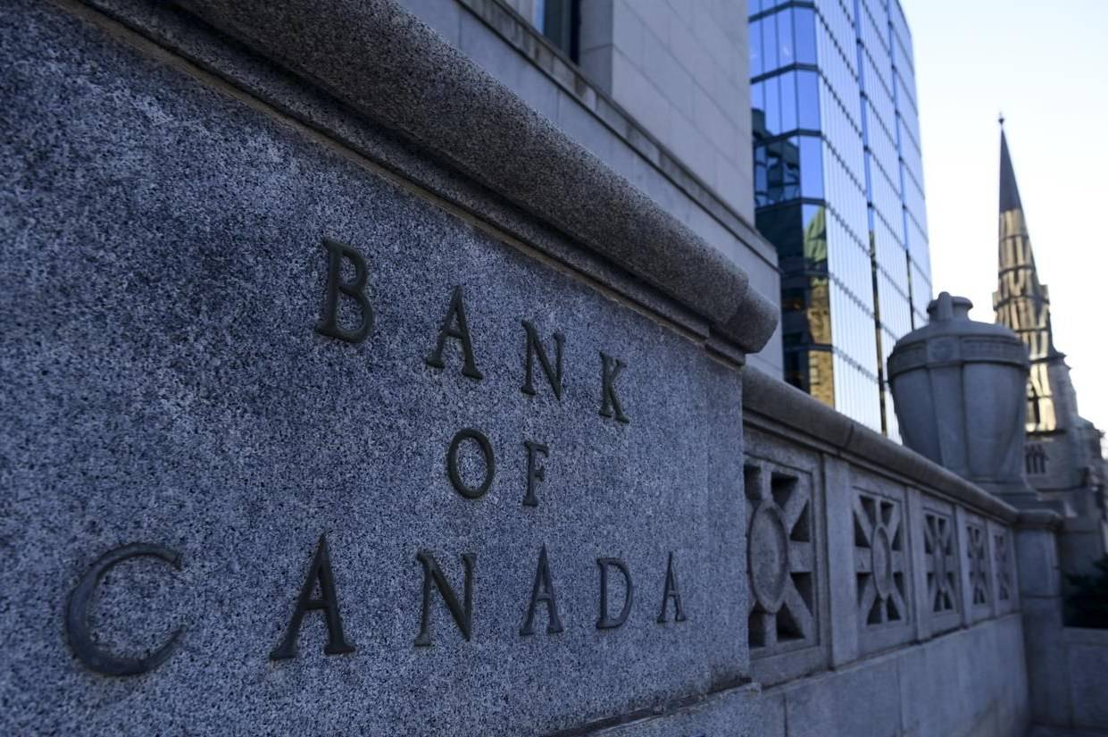 The Bank of Canada in Ottawa on Tuesday, Dec. 15, 2020. The Bank of Canada will provide a window into its thinking on the economy as it makes an announcement about its trend-setting rate. THE CANADIAN PRESS/Sean Kilpatrick