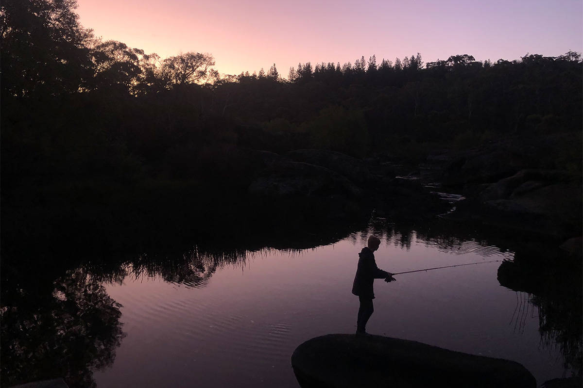 While music concerts and nightclubs have reopened, Klassen said she instead prefers to go fishing. (Submitted)