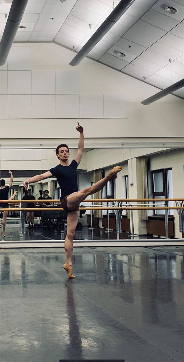 Zachary Rogers is a ballet dancer in Russia. (Submitted)