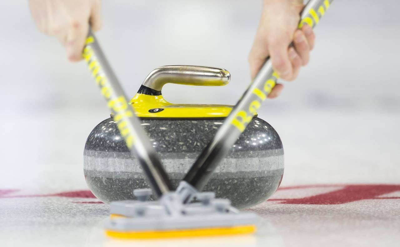 Team B.C. defeated Team Northwest Territories 10-5 in nine ends Wednesday, March 10, at the Tim Hortons Brier Canadian men's curling championship in Calgary. (CANADIAN PRESS - file photo)