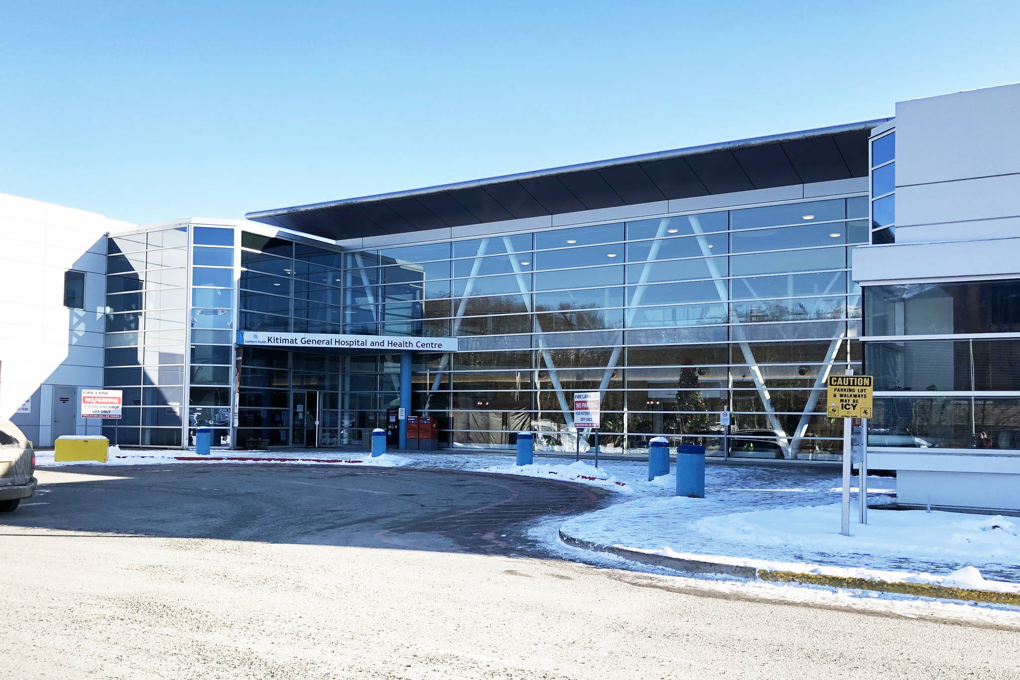 A patient care review is underway at Kitimat General Hospital after allegations a pregnant woman did not receive proper care. (Clare Rayment/Kitimat Northern Sentinel)