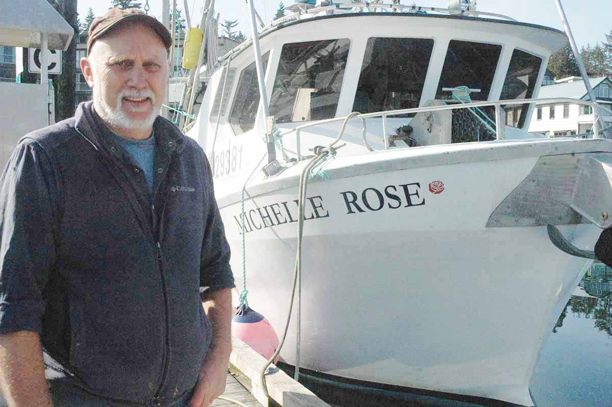 Guy Johnstone, who operates the Michelle Rose Community Supported Fishery in Cowichan Bay, fears new DFO regulations could derail his business. (Robert Barron/Citizen)