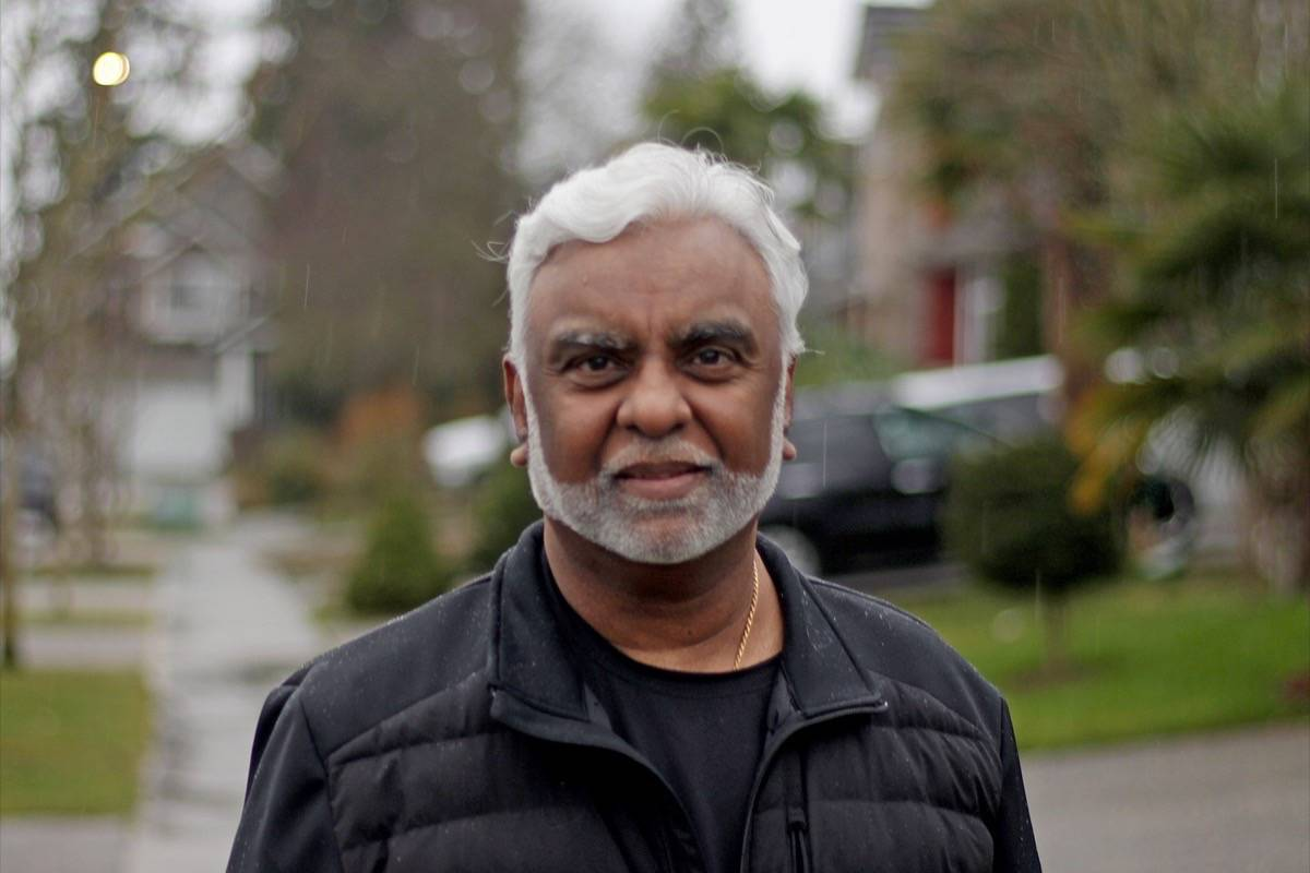 """Atish Ram was diagnosed with COVID-19 in March of 2020 and spent two months in hospital. Nearly a year later, he's still dealing with what people call """"long COVID."""" (Photo: Lauren Collins)"""