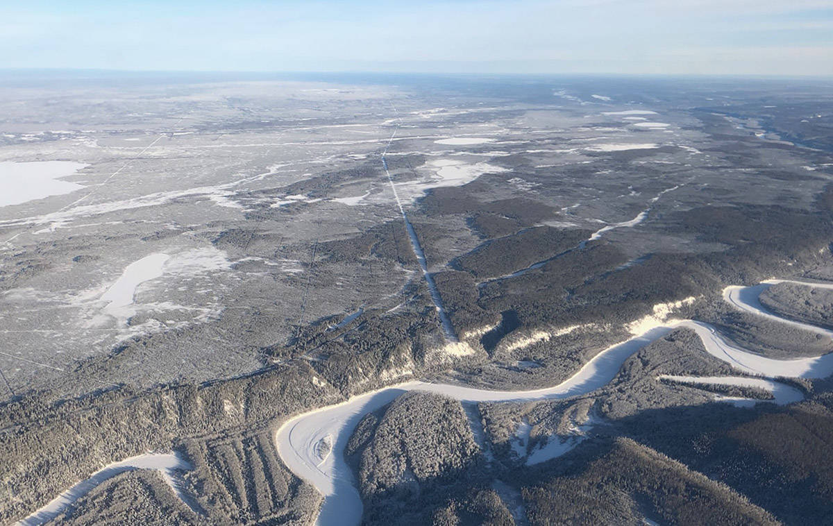 The Clarke Lake field near the community of Fort Nelson is expected to be producing power by 2024. (B.C. Ministry of Energy, Mines and Low Carbon Innovation)
