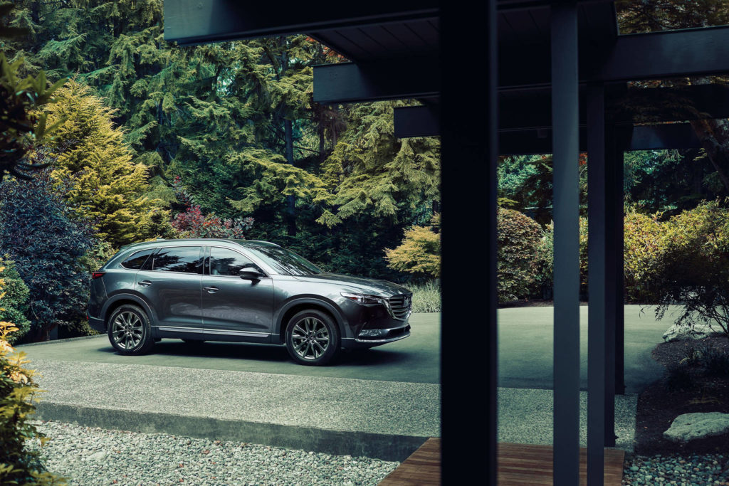 CX-9's on-road behaviour will have you believing you're piloting a sport-tuned machine instead of a 2,000-kilogram family bus with three rows of seats.