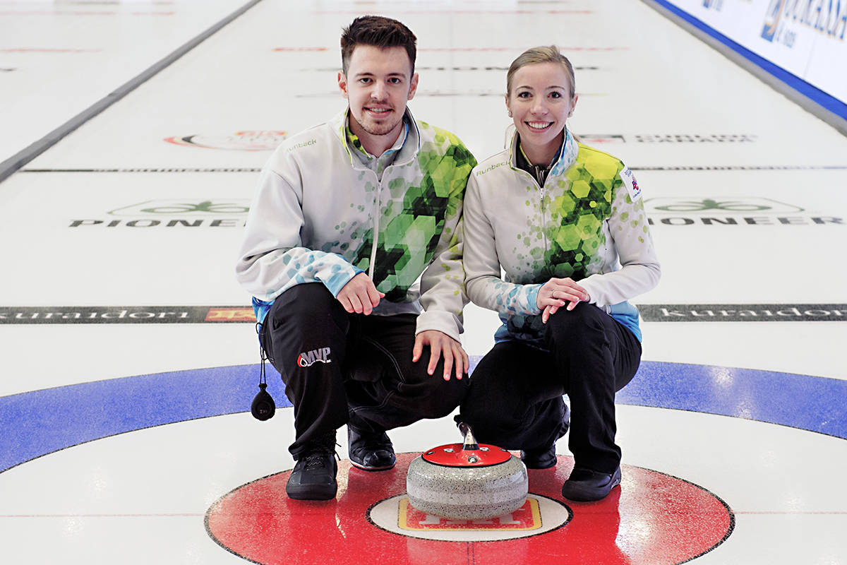 Tyler Tardi and Dezeray Hawes will begin their quest for the 2021 Canadian Mixed Doubles Curling Championship on Thursday, March 18 in Calgary. (file)