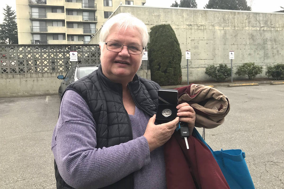 Ancestry researcher Marion Robinson helped find the Chilliwack family of nurse Carrie Whittle. (Jennifer Feinberg/ The Chilliwack Progress)