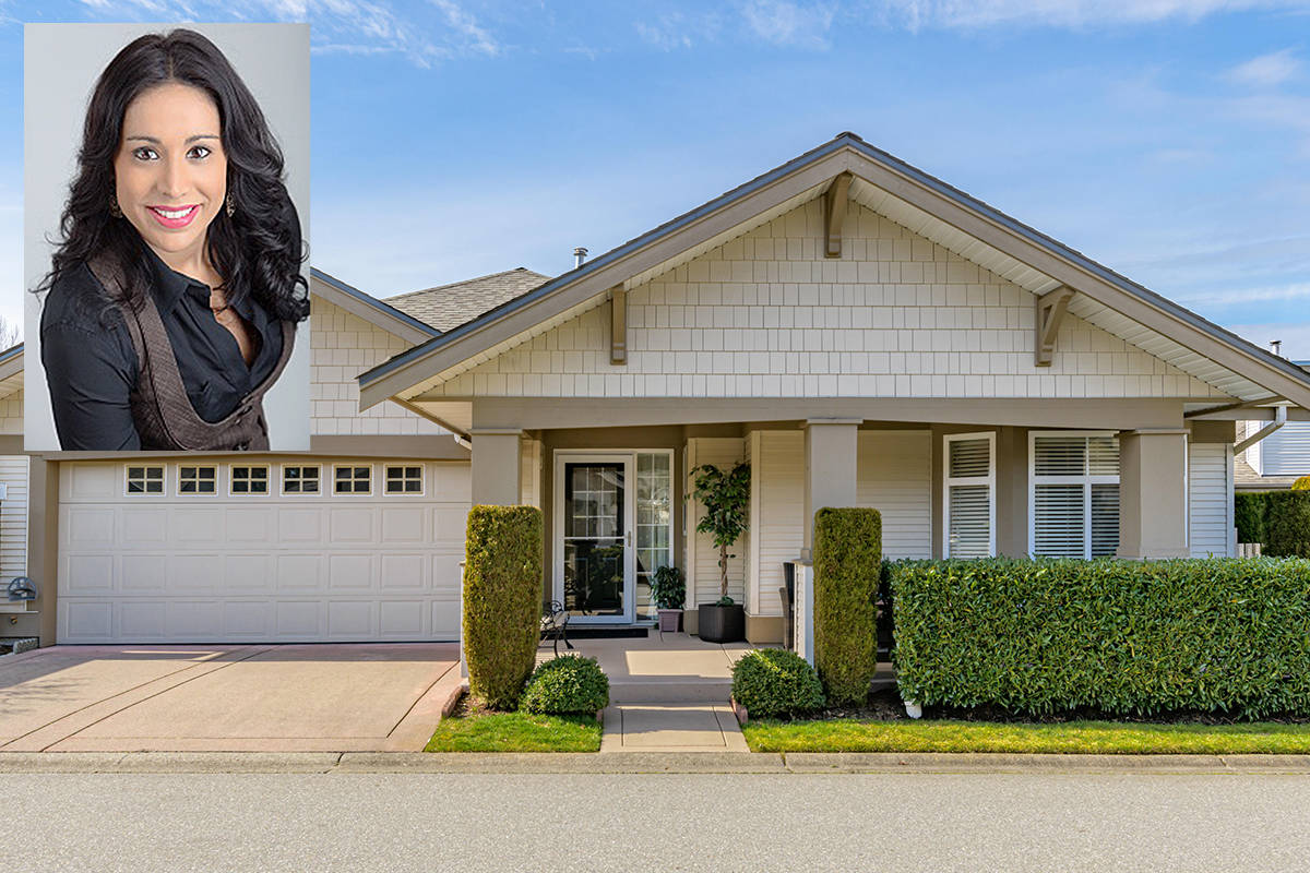 How hot is the Langley real estate market? Realtor Suki Bahi said she has never seen anything like it. On Monday, March 15, 2021, this Walnut Grove detached strata sold for $1.32 million, $500,000 over the asking price. (Special to Langley Advance Times)