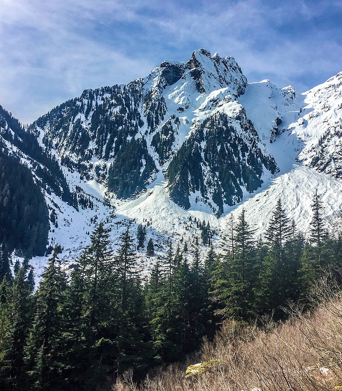 Ron Paley and his neighbours headed up the mountains in Golden Ears Provincial Park this past Saturday, March 13. He offers some safety tips for those considering a similar trek. (Special to The News)