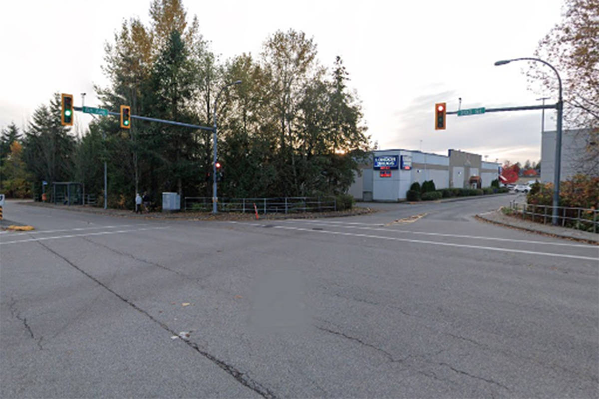 Police are investigating an incident in the area of 203rd Street and 65th Avenue in Langley. (Google screen grab)
