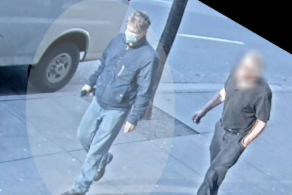 Still of suspect in random attack on a dog walker that took place on Jan. 19, 2021. (Vancouver Police Department)