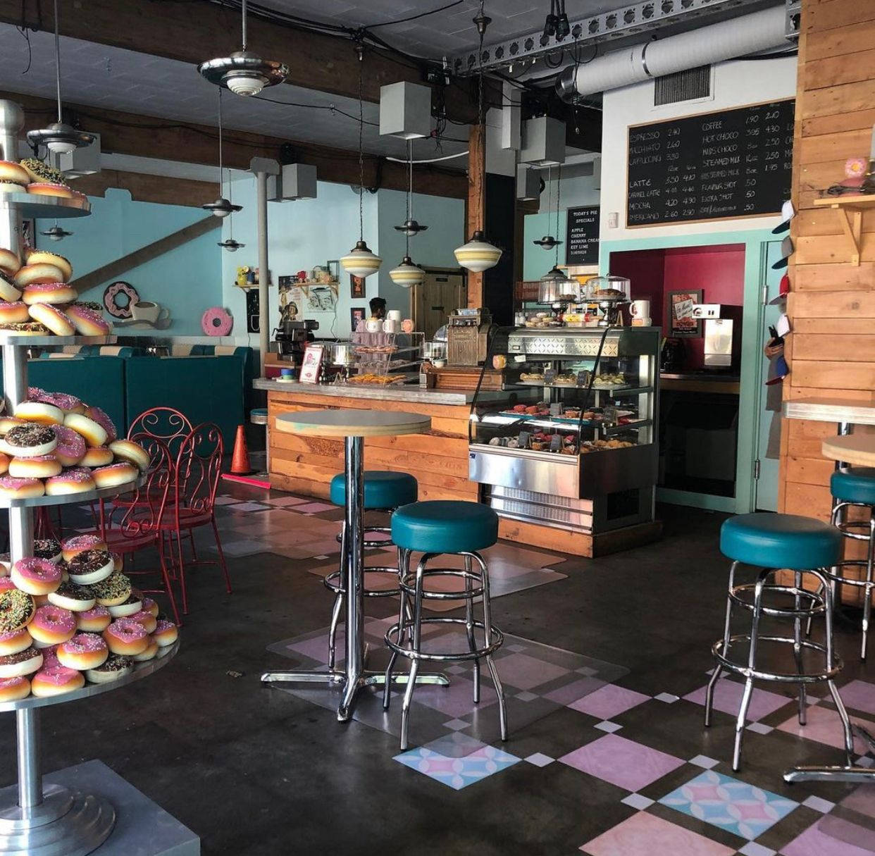 Harvest Cafe on Mill Street has created a new donut to celebrate the Disney film Flora and Ulysses, which was filmed in part at the Chilliwack eatery. (Submitted photo)