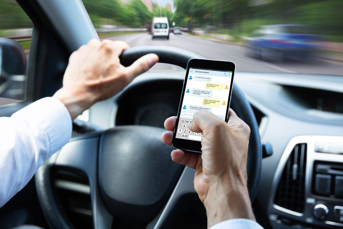 Const. Alex Bérubé, media relations officer with the West Shore RCMP, says he has encountered a wide-range of unusual incidents where people have been driving while distracted. (Shutterstock)