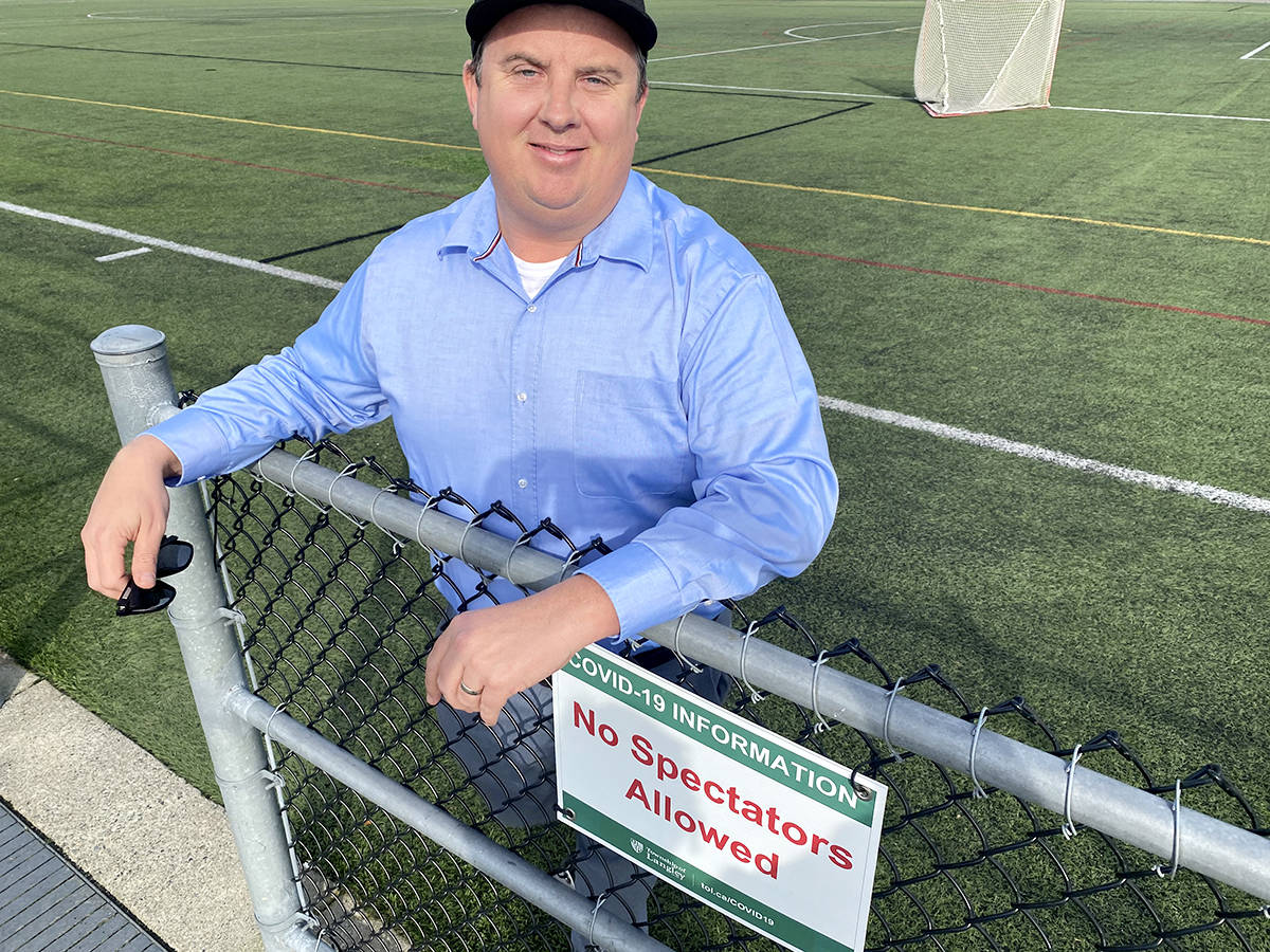 It's time to let kids play ball again, and to allow their parents to attend their games, Murrayville resident Brent Larsen argued in a petition to the provincial health officer (Special to Langley Advance Times)