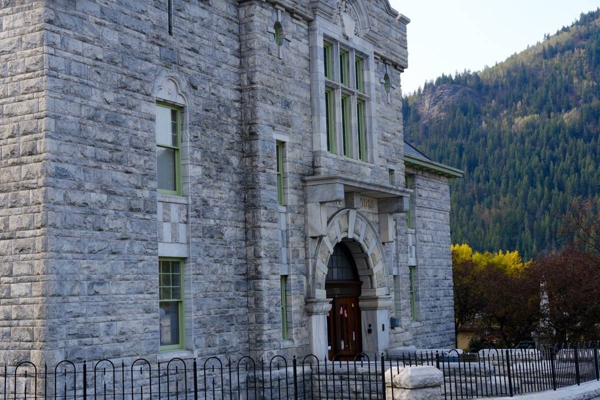 The courthouse in Nelson, B.C., where Alex Willness was refused bail on March 22. Photo: Bill Metcalfe