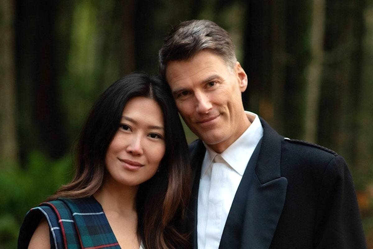 The wedding of former Vancouver mayor Gregor Robertson, right, and Eileen Park was featured in Vogue Magazine last week. (Mathias Fast photography)