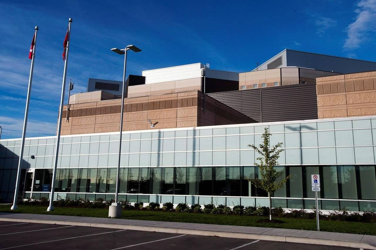 The Toronto South Detention Centre is shown in Toronto on October 3, 2013. THE CANADIAN PRESS/Nathan Denette