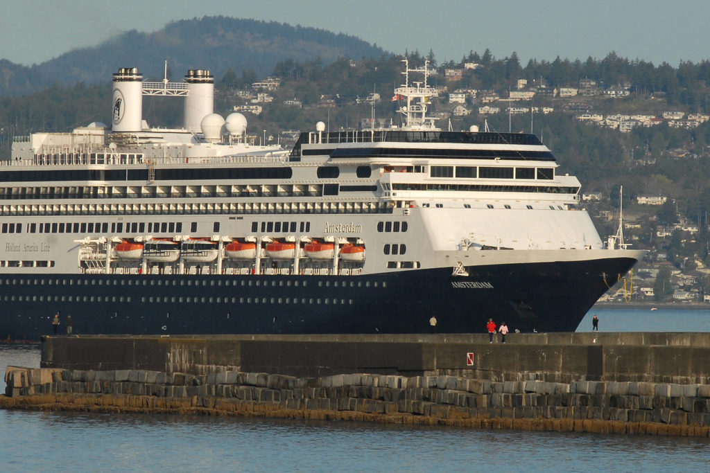 Every year the cruise ship industry creates hundreds of jobs in Victoria. Don Denton/VICTORIA NEWS