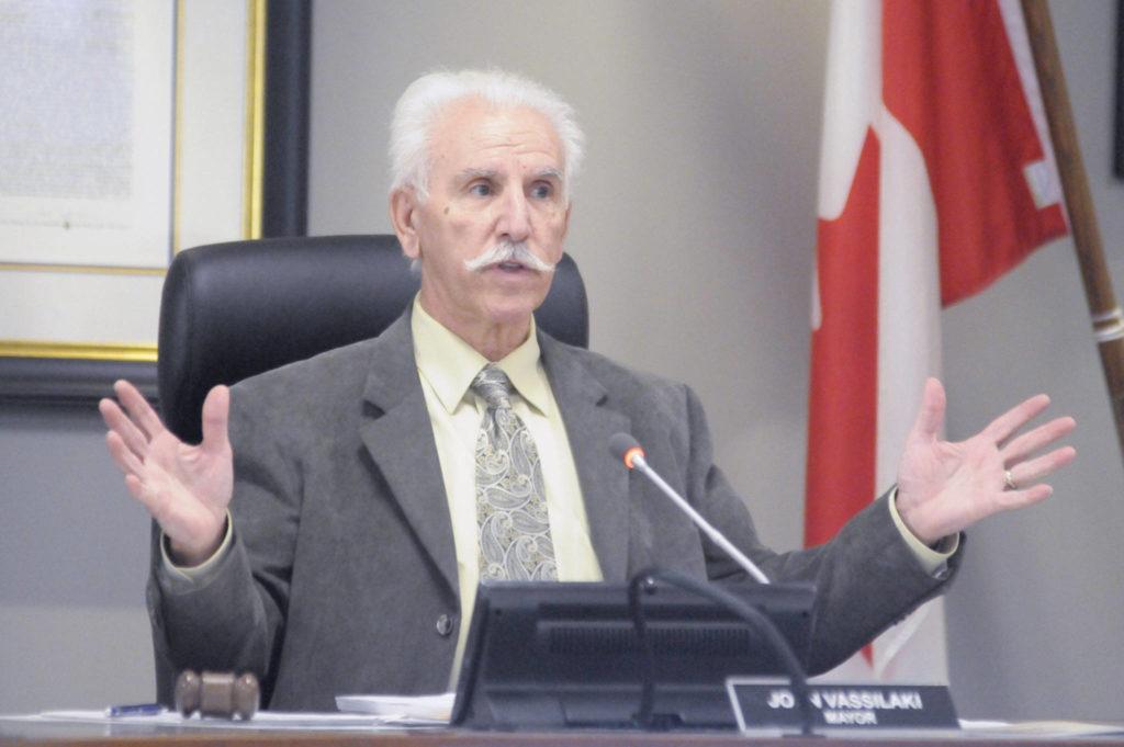 Mayor John Vassilaki (File)