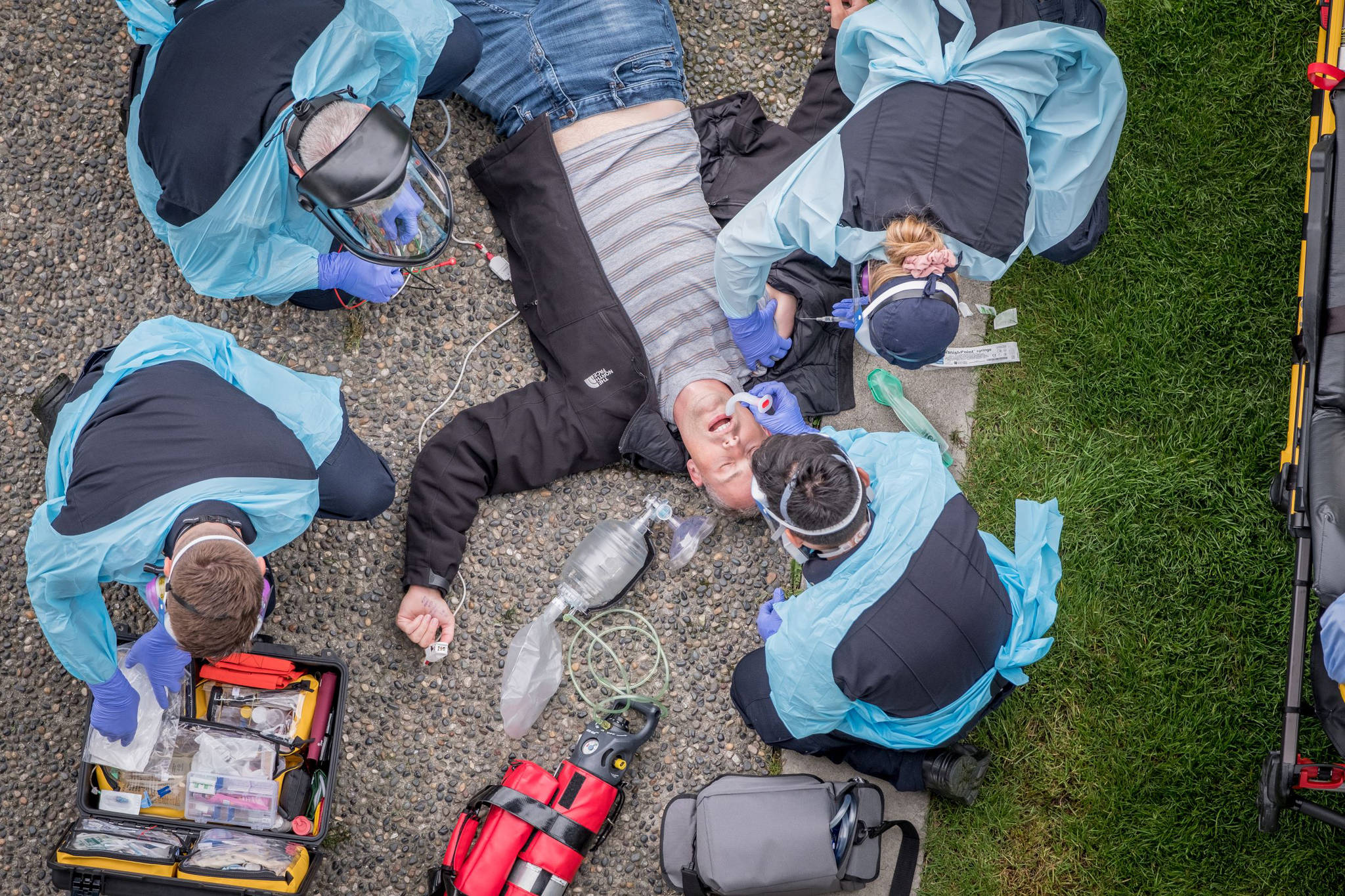 Overdose fatalities continued to rise throughout B.C., in the first two months of 2021 (BCEHS photo illustration)