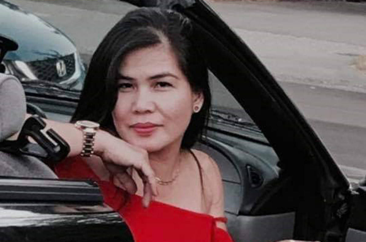 Photo of Ma Cecilia Loreto, 47, who was killed on March 17, 2021. Two people have been charged in her death, police announced March 24, 2020. (IHIT handout)