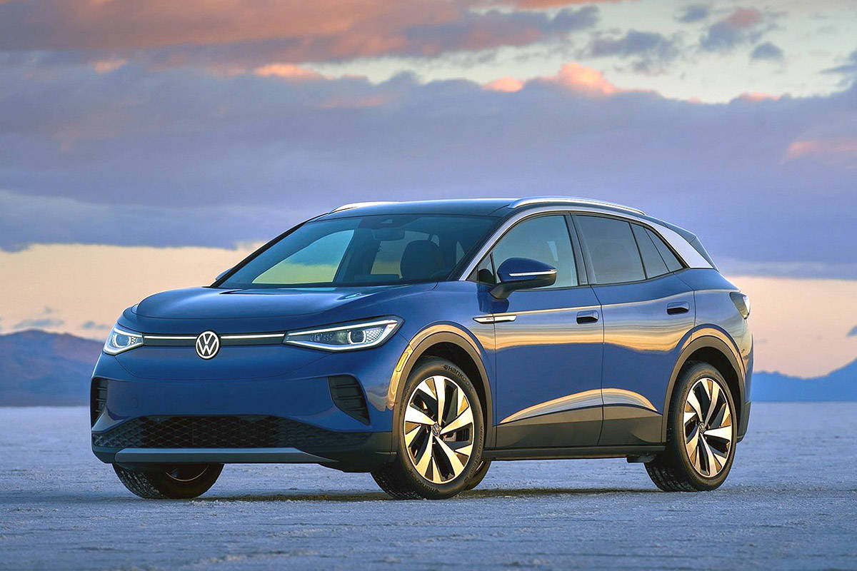 The crossover craze gets its name for good reason: buyers are crazy for them. So it makes good sense to create an electric crossover as opposed to a small sedan or hatchback. PHOTO: VOLKSWAGEN
