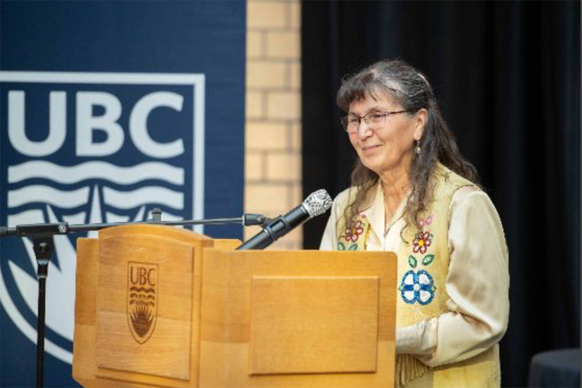 Dr. Jeannette Armstrong, associate professor of Indigenous Studies at UBCO, helped designed the new degree program. (University of British Columbia Okanagan)