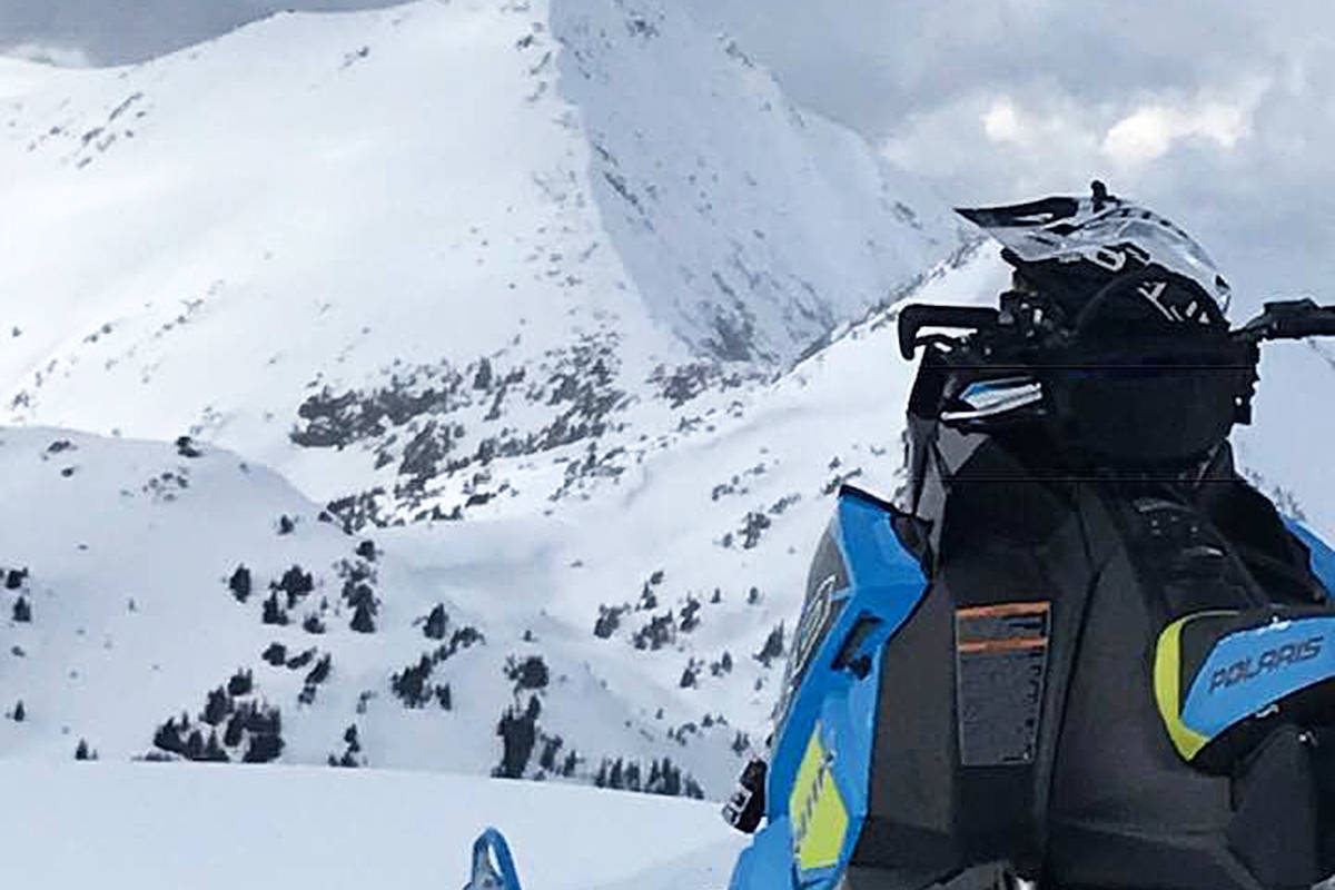 Eureka Peak, located east of Williams Lake, is a popular spot for snowmobilers. (File photo)
