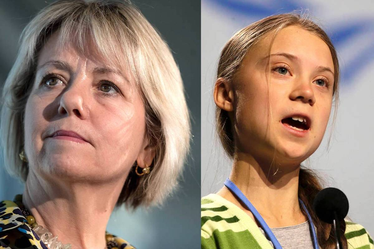 B.C. provincial health officer Dr. Bonnie Henry (THE CANADIAN PRESS/Darryl Dyck) and Swedish climate activist Greta Thunberg (AP Photo/Paul White) are set to receive the highest honors conferred by UBC.