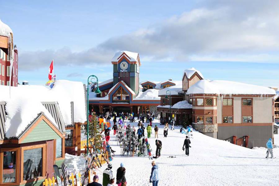 Ski village at Big White Ski Resort. (Contributed)