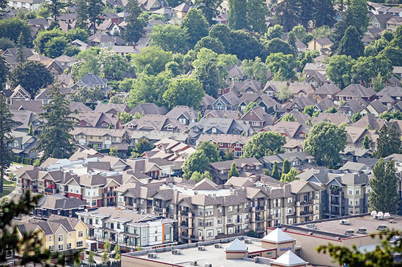 Real estate prices and sales finally came down in May in Vancouver and the Fraser Valley but in Chilliwack they stayed steady. (File)