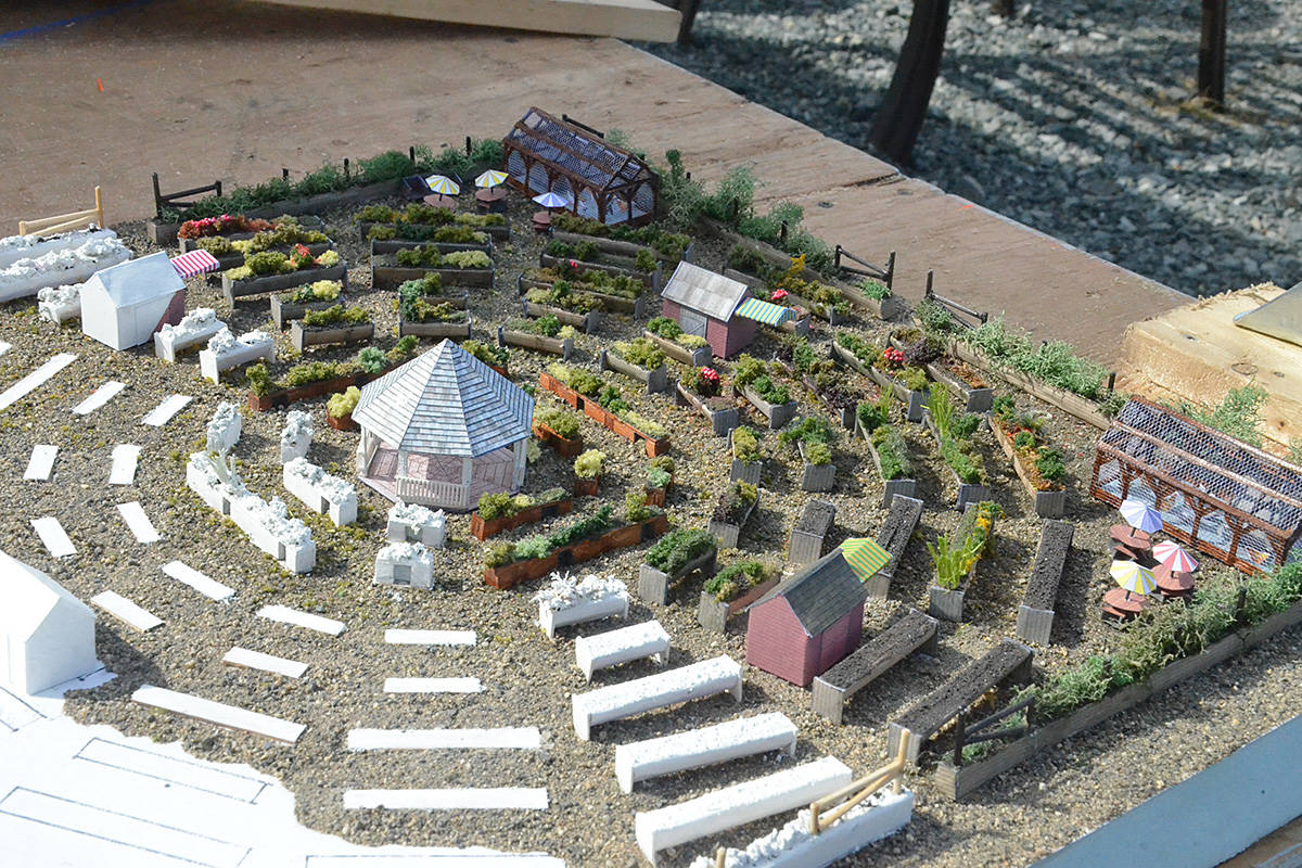 Plans for an accessible garden in Langley, created by Tim Kreiter. (Matthew Claxton/Langley Advance Times)