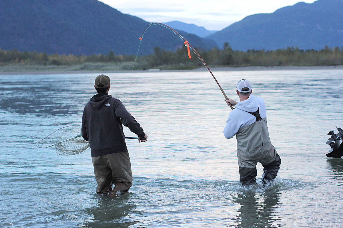 Fishing licences came available for sale Thursday, April 1, and the federal government has introduced a new tool to help anglers – those who are required – to record their catches. (DFO/Special to Black Press Media)