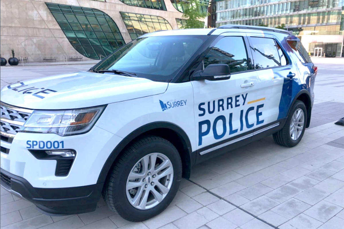 Surrey Police Service has announced five more hires to its leadership team. (File photo)