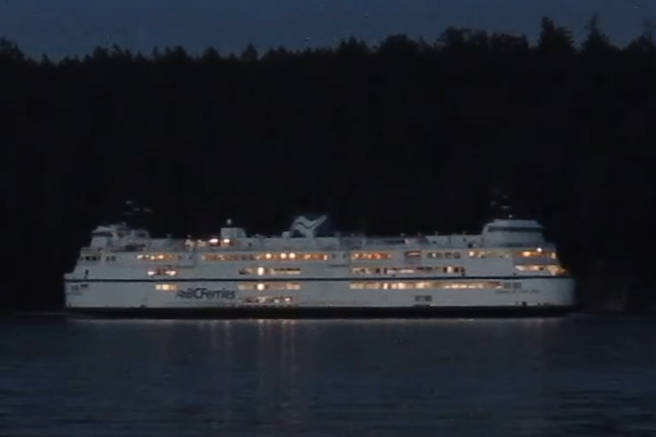 A BC Ferries vessel in Departure Bay in Nanaimo. (News Bulletin file photo)