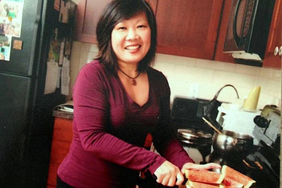 Lucy Phua was an academic advisor at Thompson Rivers University. She died after being hit by a pickup truck while crossing the street at University Drive on Nov. 15, 2019. (Facebook)