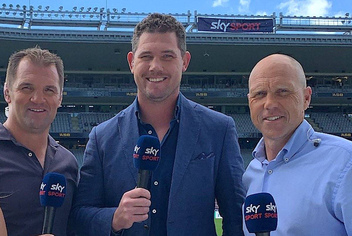 A New Zealand television rugby commentator who adopted a mock Asian accent during a post-game interview on Friday is likely to keep his job despite an outpouring of public criticism. (Twitter/Joe Wheeler)