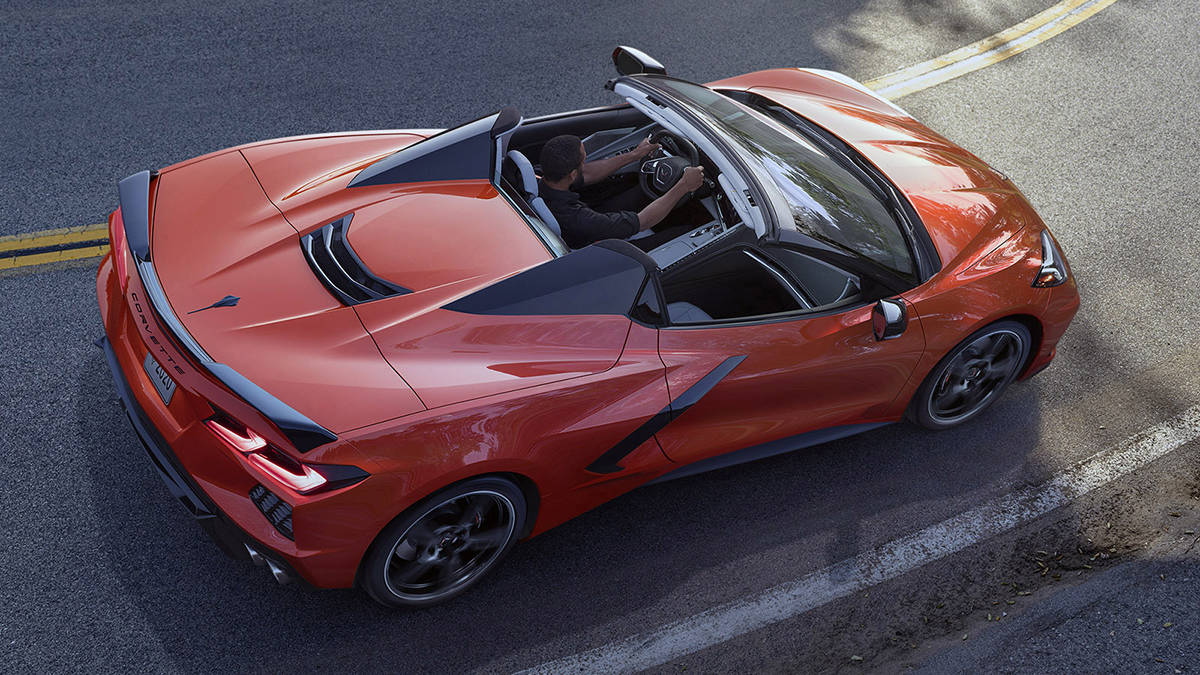 With GM committing to stop selling internal-combustion-powered vehicles by 2025, it seems that, yes, the Corvette will go electric at some point. PHOTO: CHEVROLET